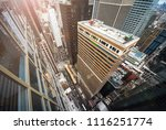 new york city 5th ave vertical... | Shutterstock . vector #1116251774