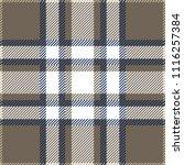 blue  gray and white tartan...   Shutterstock .eps vector #1116257384