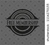 free membership retro style... | Shutterstock .eps vector #1116270155