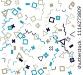 memphis background.  abstract...   Shutterstock .eps vector #1116273809