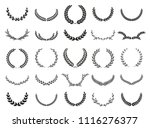 collection of different black... | Shutterstock .eps vector #1116276377