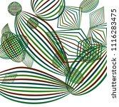 falling geometric figures....   Shutterstock .eps vector #1116283475