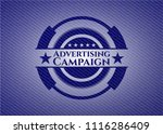 advertising campaign badge with ... | Shutterstock .eps vector #1116286409