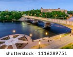 the ancient russian fortress in ... | Shutterstock . vector #1116289751