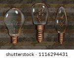 lamps light icon collection.... | Shutterstock .eps vector #1116294431