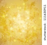 abstract gold star background.... | Shutterstock .eps vector #111630911