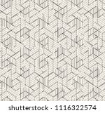 small geometric abstract mosaic ... | Shutterstock . vector #1116322574