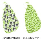people population and green... | Shutterstock .eps vector #1116329744