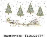 vector illustration. pen style... | Shutterstock .eps vector #1116329969