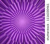 comic bright purple background...   Shutterstock .eps vector #1116330461