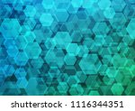 light blue vector polygon...   Shutterstock .eps vector #1116344351