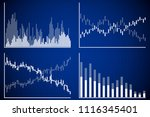 business data market elements... | Shutterstock .eps vector #1116345401