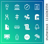 modern  simple vector icon set... | Shutterstock .eps vector #1116363554