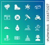 modern  simple vector icon set...   Shutterstock .eps vector #1116371327