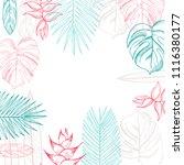 vector background  wit hand... | Shutterstock .eps vector #1116380177