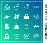 modern  simple vector icon set... | Shutterstock .eps vector #1116381131