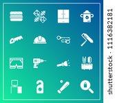 modern  simple vector icon set... | Shutterstock .eps vector #1116382181