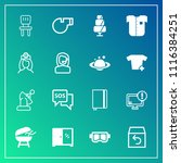 modern  simple vector icon set... | Shutterstock .eps vector #1116384251