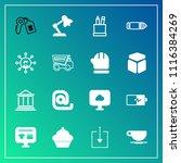 modern  simple vector icon set... | Shutterstock .eps vector #1116384269