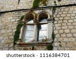 houses details in trogir ...   Shutterstock . vector #1116384701