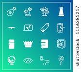 modern  simple vector icon set...   Shutterstock .eps vector #1116385217