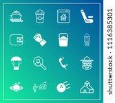 modern  simple vector icon set... | Shutterstock .eps vector #1116385301