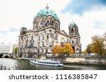 beautiful view of berliner dom  ... | Shutterstock . vector #1116385847