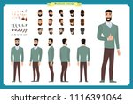 people character business set.... | Shutterstock .eps vector #1116391064