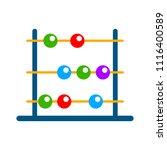 vector abacus illustration.... | Shutterstock .eps vector #1116400589