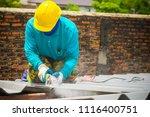 technician working renew the... | Shutterstock . vector #1116400751