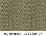 golden stylized stars on a gray ... | Shutterstock . vector #1116408407