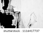 old grunge ripped torn vintage... | Shutterstock . vector #1116417737