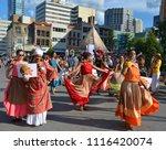 montreal quebec canada august... | Shutterstock . vector #1116420074