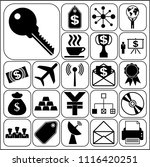 set of 22 business high quality ... | Shutterstock .eps vector #1116420251