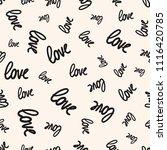 love seamless pattern. vector...   Shutterstock .eps vector #1116420785