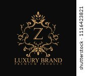 logo luxury with design element ... | Shutterstock .eps vector #1116423821