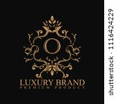 logo luxury with design element ... | Shutterstock .eps vector #1116424229