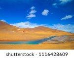 qinghai tibet plateau scenery... | Shutterstock . vector #1116428609