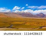 qinghai tibet plateau scenery... | Shutterstock . vector #1116428615
