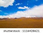 qinghai tibet plateau scenery... | Shutterstock . vector #1116428621