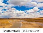 qinghai tibet plateau scenery... | Shutterstock . vector #1116428645