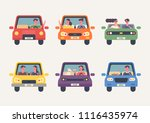 front icons for various people... | Shutterstock .eps vector #1116435974