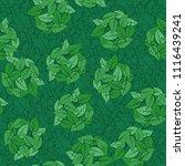 seamless pattern. heaps of... | Shutterstock .eps vector #1116439241