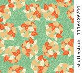 seamless pattern. heaps of... | Shutterstock .eps vector #1116439244