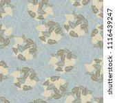 seamless pattern. heaps of... | Shutterstock .eps vector #1116439247