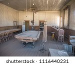interior photo of the pool hall ...   Shutterstock . vector #1116440231