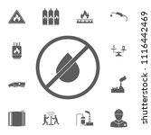 prohibition on oil production... | Shutterstock .eps vector #1116442469