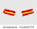 vector realistic isolated paint ... | Shutterstock .eps vector #1116452774