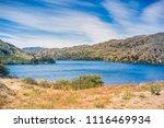 lake at cochrane  carretera... | Shutterstock . vector #1116469934
