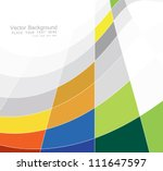 abstract colorful mosaic square ... | Shutterstock .eps vector #111647597